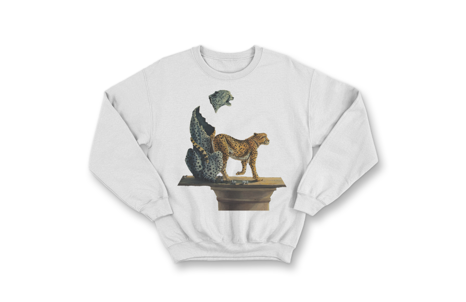 Crew Neck Sweater – Affaire de Couer Cheetah