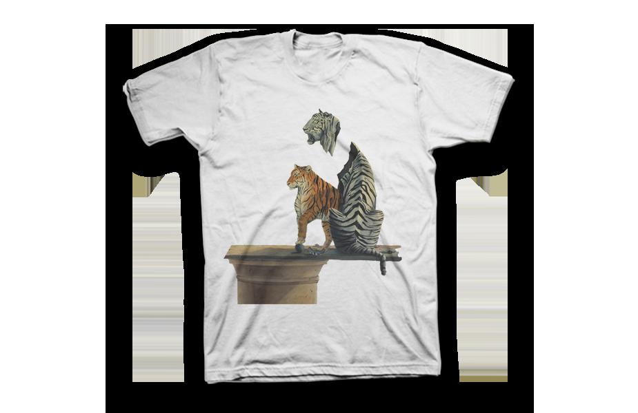 Crew Neck Tee Shirt – Affaire de Couer Tiger