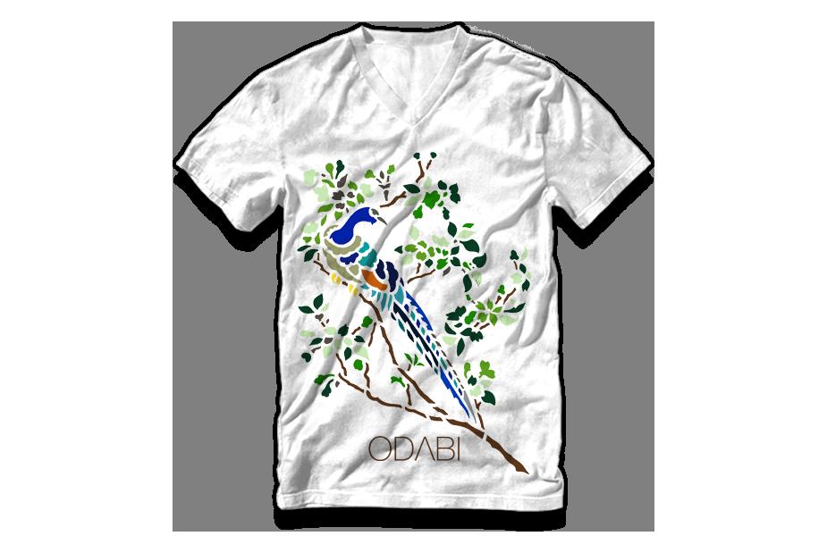 V Neck – Peacock