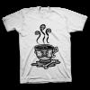 Crew Neck Tee Shirt – Poison Coffee