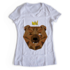 Women's V Neck – Bear