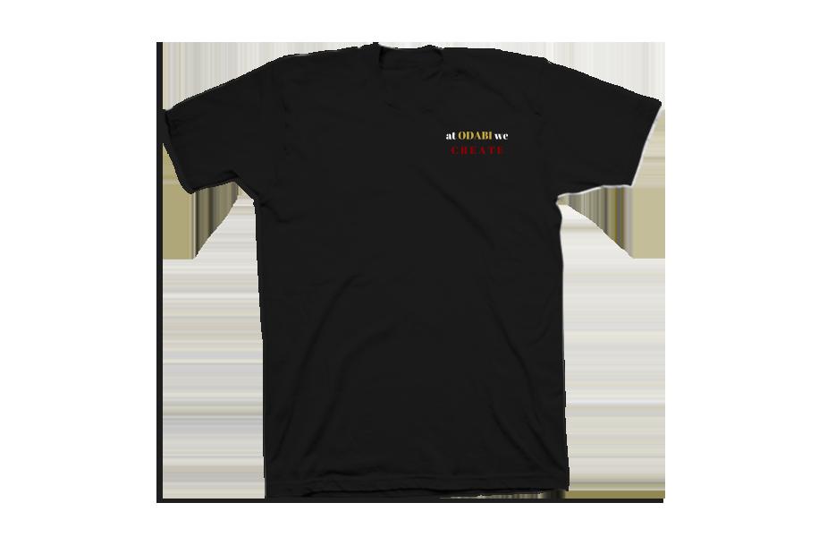 Rare Indivdual – Front of Shirt – Black
